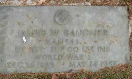 BAUGHER  (VETERAN WWI), JAMES WALLACE - Boone County, Arkansas   JAMES WALLACE BAUGHER  (VETERAN WWI) - Arkansas Gravestone Photos