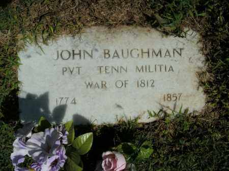 BAUGHMAN  (VETERAN 1812), JOHN - Boone County, Arkansas | JOHN BAUGHMAN  (VETERAN 1812) - Arkansas Gravestone Photos