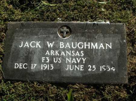 BAUGHMAN  (VETERAN), JACK W - Boone County, Arkansas | JACK W BAUGHMAN  (VETERAN) - Arkansas Gravestone Photos