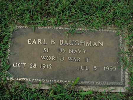 BAUGHMAN  (VETERAN WWII), EARL B. - Boone County, Arkansas | EARL B. BAUGHMAN  (VETERAN WWII) - Arkansas Gravestone Photos