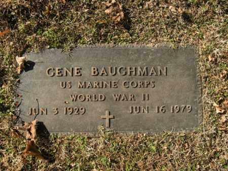 BAUGHMAN  (VETERAN WWII), GENE - Boone County, Arkansas | GENE BAUGHMAN  (VETERAN WWII) - Arkansas Gravestone Photos