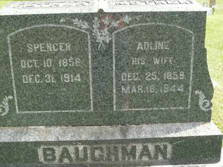 BAUGHMAN, SPENCER - Boone County, Arkansas | SPENCER BAUGHMAN - Arkansas Gravestone Photos