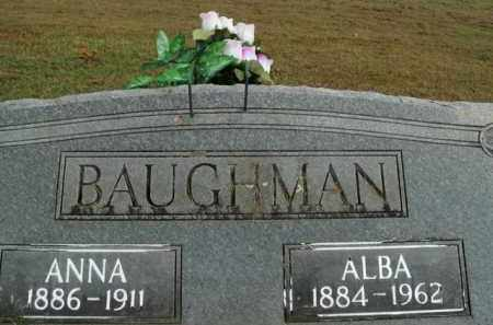 BAUGHMAN, ANNA - Boone County, Arkansas | ANNA BAUGHMAN - Arkansas Gravestone Photos