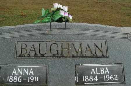 BAUGHMAN, ALBA - Boone County, Arkansas | ALBA BAUGHMAN - Arkansas Gravestone Photos
