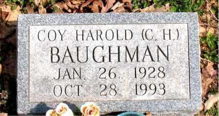 BAUGHMAN, COY HAROLD  (C.H.) - Boone County, Arkansas | COY HAROLD  (C.H.) BAUGHMAN - Arkansas Gravestone Photos