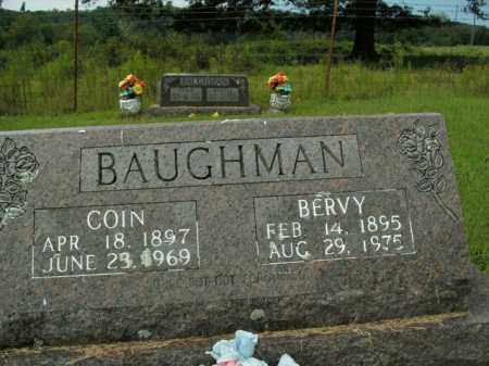 BAUGHMAN, COIN - Boone County, Arkansas | COIN BAUGHMAN - Arkansas Gravestone Photos