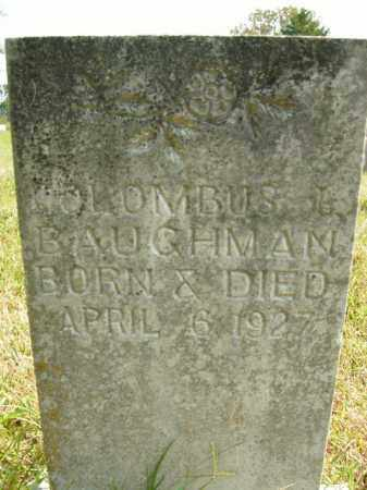 BAUGHMAN, COLOMBUS J. - Boone County, Arkansas | COLOMBUS J. BAUGHMAN - Arkansas Gravestone Photos