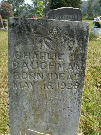 BAUGHMAN, CHARLIE L. - Boone County, Arkansas | CHARLIE L. BAUGHMAN - Arkansas Gravestone Photos