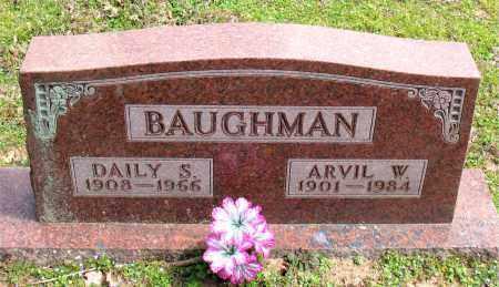 BAUGHMAN, ARVIL  W. - Boone County, Arkansas | ARVIL  W. BAUGHMAN - Arkansas Gravestone Photos