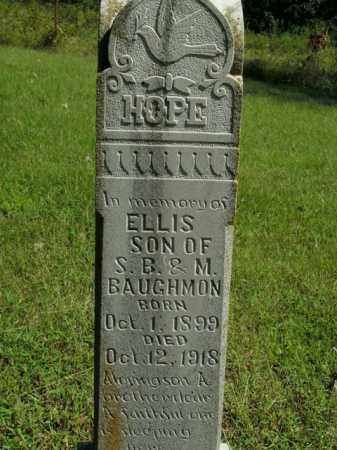 BAUGHMAN, ELLIS - Boone County, Arkansas | ELLIS BAUGHMAN - Arkansas Gravestone Photos