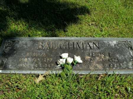 CANTRELL BAUGHMAN, E. ELLA - Boone County, Arkansas | E. ELLA CANTRELL BAUGHMAN - Arkansas Gravestone Photos