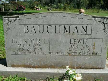 BAUGHMAN, ELENDER LUZINA - Boone County, Arkansas | ELENDER LUZINA BAUGHMAN - Arkansas Gravestone Photos
