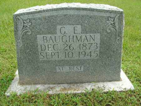 BAUGHMAN, G.E. - Boone County, Arkansas | G.E. BAUGHMAN - Arkansas Gravestone Photos