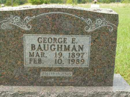 BAUGHMAN, GEORGE ELZIE - Boone County, Arkansas | GEORGE ELZIE BAUGHMAN - Arkansas Gravestone Photos