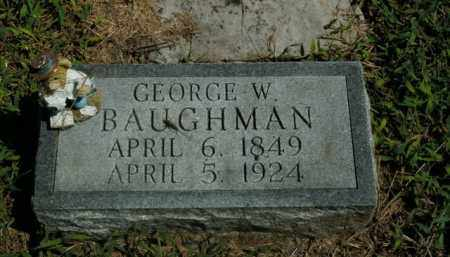 BAUGHMAN, GEORGE W. - Boone County, Arkansas | GEORGE W. BAUGHMAN - Arkansas Gravestone Photos