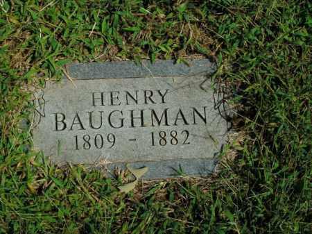 BAUGHMAN, HENRY - Boone County, Arkansas | HENRY BAUGHMAN - Arkansas Gravestone Photos