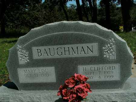 BAUGHMAN, H. CLIFFORD - Boone County, Arkansas | H. CLIFFORD BAUGHMAN - Arkansas Gravestone Photos