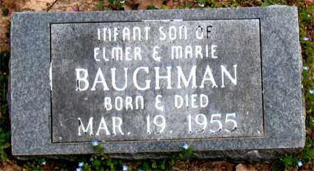 BAUGHMAN, INFANT  SON - Boone County, Arkansas | INFANT  SON BAUGHMAN - Arkansas Gravestone Photos