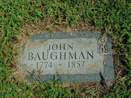 BAUGHMAN, JOHN - Boone County, Arkansas | JOHN BAUGHMAN - Arkansas Gravestone Photos