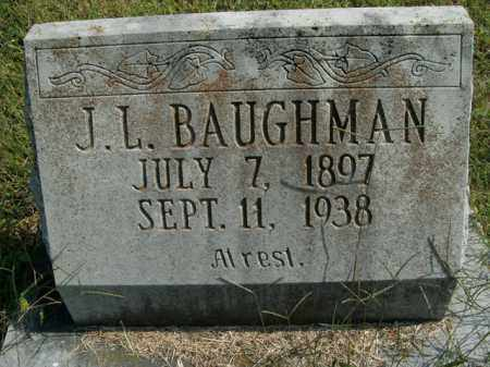 BAUGHMAN, J.L. - Boone County, Arkansas | J.L. BAUGHMAN - Arkansas Gravestone Photos