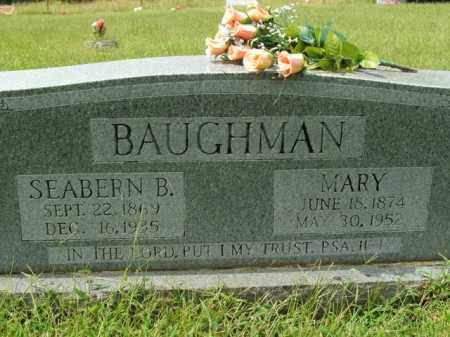 BAUGHMAN, SEABERN B. - Boone County, Arkansas | SEABERN B. BAUGHMAN - Arkansas Gravestone Photos