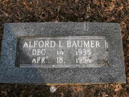 BAUMER, ALFORD L. - Boone County, Arkansas   ALFORD L. BAUMER - Arkansas Gravestone Photos