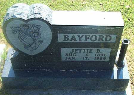 BAYFORD, JETTIE B. - Boone County, Arkansas | JETTIE B. BAYFORD - Arkansas Gravestone Photos