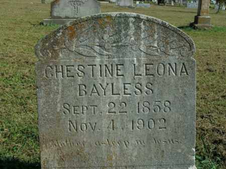 BAYLESS, CHESTINE LEONA - Boone County, Arkansas | CHESTINE LEONA BAYLESS - Arkansas Gravestone Photos