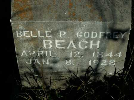BEACH, BELLE PRISCILLA - Boone County, Arkansas | BELLE PRISCILLA BEACH - Arkansas Gravestone Photos