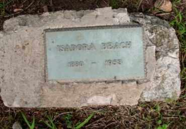 BEACH, ISADORA - Boone County, Arkansas | ISADORA BEACH - Arkansas Gravestone Photos