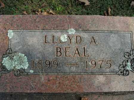 BEAL, LLOYD A. - Boone County, Arkansas | LLOYD A. BEAL - Arkansas Gravestone Photos