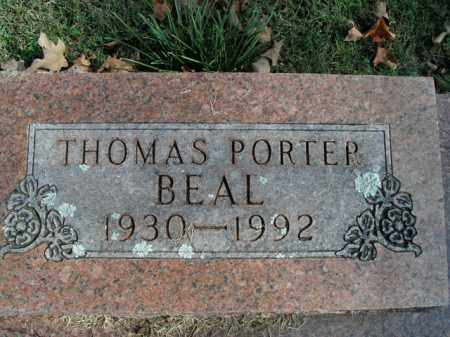 BEAL, THOMAS PORTER - Boone County, Arkansas | THOMAS PORTER BEAL - Arkansas Gravestone Photos