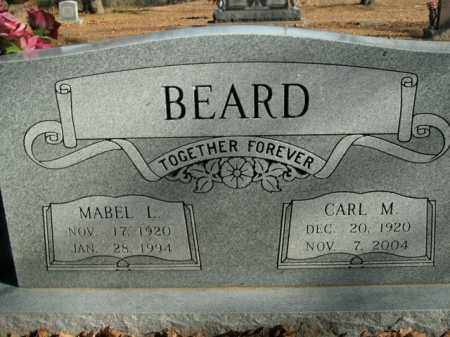 BEARD, CARL M. - Boone County, Arkansas | CARL M. BEARD - Arkansas Gravestone Photos
