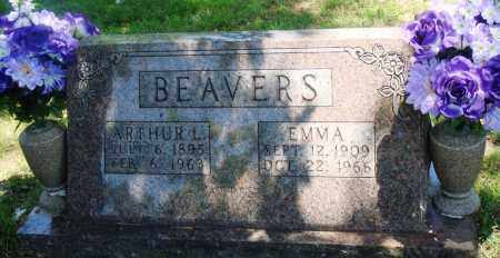 BEAVERS, ARTHUR L - Boone County, Arkansas | ARTHUR L BEAVERS - Arkansas Gravestone Photos