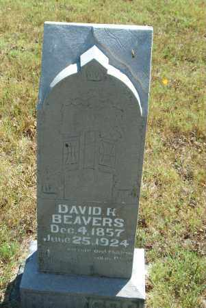 BEAVERS, DAVID  H. - Boone County, Arkansas | DAVID  H. BEAVERS - Arkansas Gravestone Photos