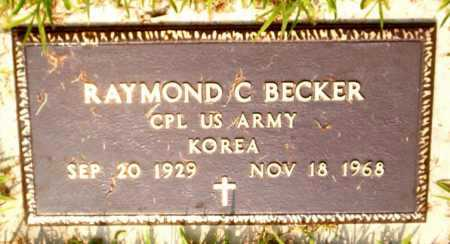 BECKER  (VETERAN KOR), RAYMOND C - Boone County, Arkansas | RAYMOND C BECKER  (VETERAN KOR) - Arkansas Gravestone Photos