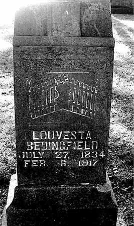BEDINGFIELD, LOUVESTA - Boone County, Arkansas | LOUVESTA BEDINGFIELD - Arkansas Gravestone Photos
