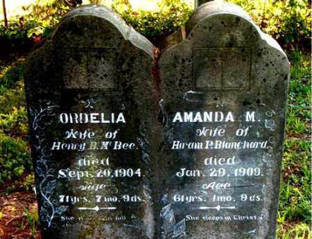 BLANCHARD, AMANDA  M. - Boone County, Arkansas | AMANDA  M. BLANCHARD - Arkansas Gravestone Photos