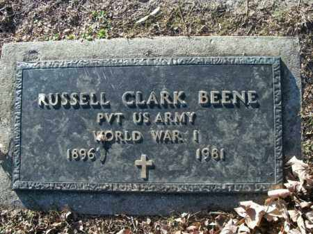 BEENE  (VETERAN WWI), RUSSELL CLARK - Boone County, Arkansas | RUSSELL CLARK BEENE  (VETERAN WWI) - Arkansas Gravestone Photos