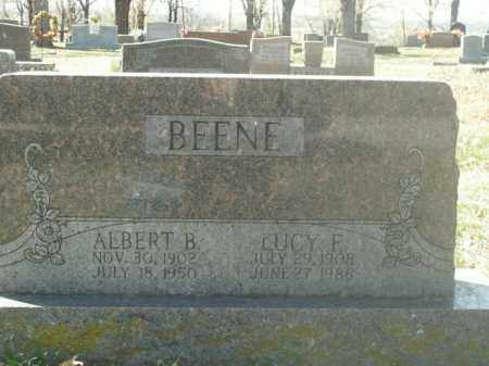 BEENE, LUCY F. - Boone County, Arkansas | LUCY F. BEENE - Arkansas Gravestone Photos
