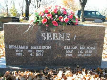 MAJORS BEENE, SALLIE - Boone County, Arkansas | SALLIE MAJORS BEENE - Arkansas Gravestone Photos
