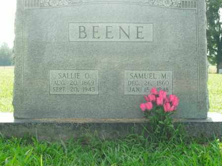 BEENE, SALLIE OPHELIA - Boone County, Arkansas | SALLIE OPHELIA BEENE - Arkansas Gravestone Photos