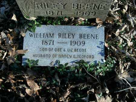 BEENE, WILLIAM RILEY - Boone County, Arkansas | WILLIAM RILEY BEENE - Arkansas Gravestone Photos