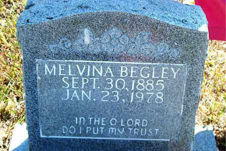 BEGLEY, MELVINA - Boone County, Arkansas | MELVINA BEGLEY - Arkansas Gravestone Photos
