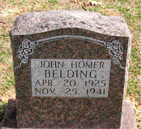 BELDING, JOHN HOMER - Boone County, Arkansas | JOHN HOMER BELDING - Arkansas Gravestone Photos