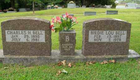 BELL, CHARLES HERBERT - Boone County, Arkansas | CHARLES HERBERT BELL - Arkansas Gravestone Photos