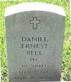 BELL  (VETERAN), DANIEL ERNEST - Boone County, Arkansas | DANIEL ERNEST BELL  (VETERAN) - Arkansas Gravestone Photos