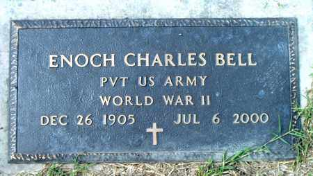 BELL  (VETERAN WWII), ENOCH CHARLES - Boone County, Arkansas | ENOCH CHARLES BELL  (VETERAN WWII) - Arkansas Gravestone Photos