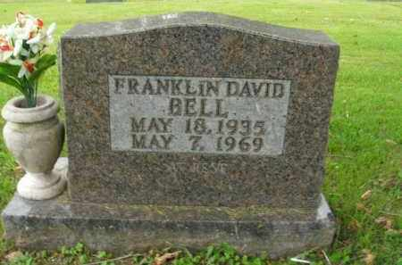 BELL, FRANKLIN DAVID - Boone County, Arkansas | FRANKLIN DAVID BELL - Arkansas Gravestone Photos