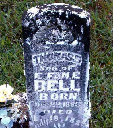 BELL, THOMAS  S. - Boone County, Arkansas | THOMAS  S. BELL - Arkansas Gravestone Photos